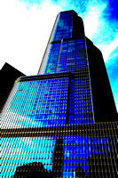 Chicago's Trump Tower, High Contrast
