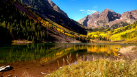 Droidscape of Maroon Lake and Maroon Bells