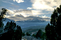 4. Pikes Peak, Late Afternoon, 14 February 2014