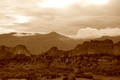 Garden of the Gods, Sepia