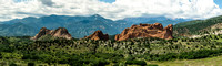 16. Garden of the Gods Panorama, Looking West, 11 August 2014